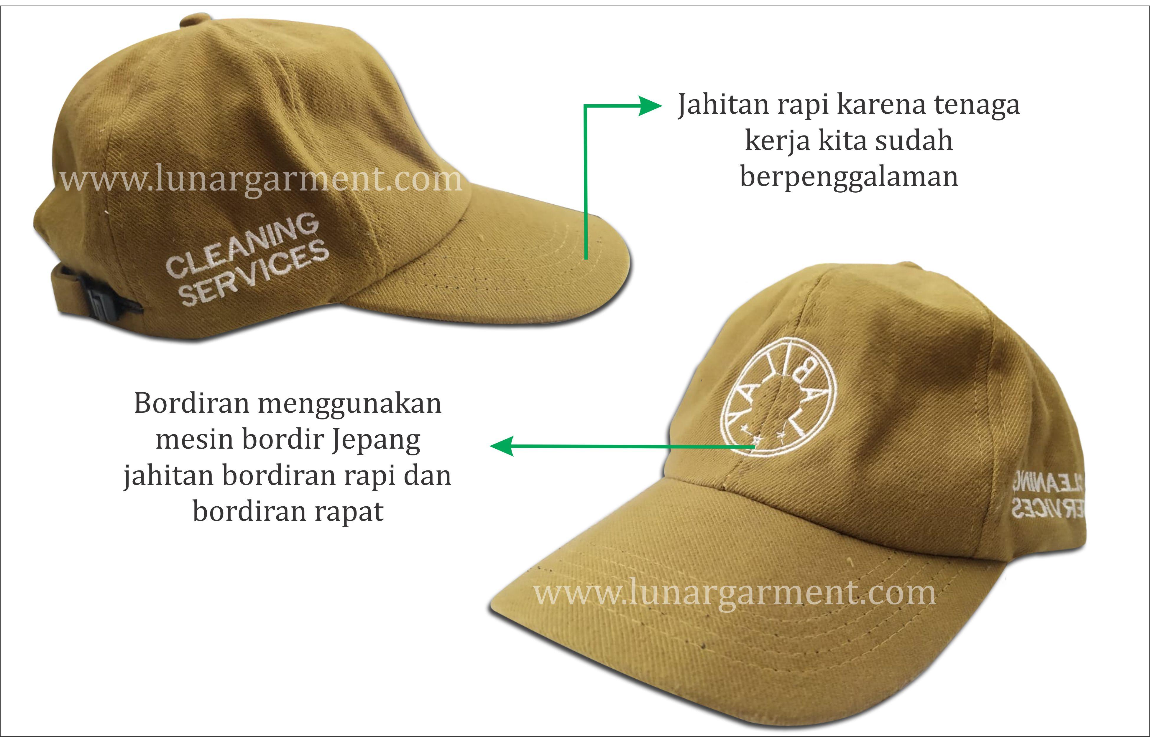 Konveksi Topi Custom Surabaya