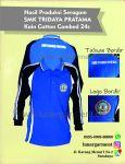 Hasil Produksi Seragam Olahraga SMK Tridaya Pratama Kain Cotton Combed 24s