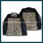 Hasil Produksi Dan Desain Jaket Terate Emas Bahan Despo