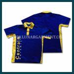 Hasil Produksi Dan Desain Polo Shirt Central Keramik Bahan Lacoste Cotton