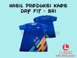 Hasil Produksi Kaos Dry Fit with Sublim dari BRI