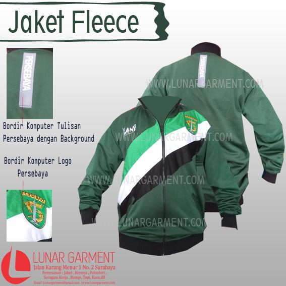 Hasil Produksi Jaket Fleece Persebaya