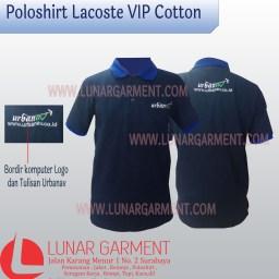 Hasil Produksi dan Desain Poloshirt Lacoste VIP Cotton Urbanav