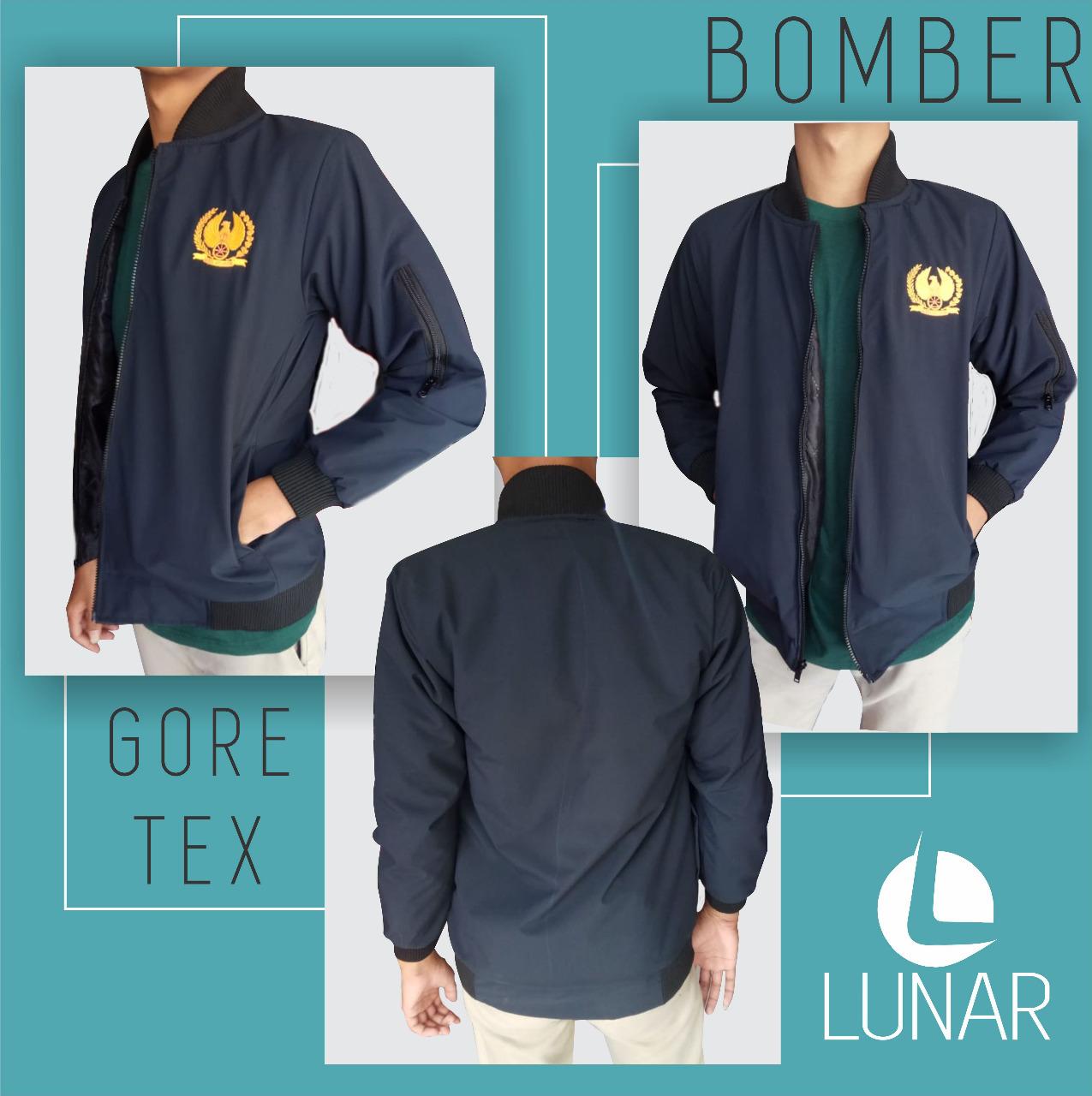 Jaket Bomber Goretex PT KAI