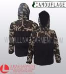 Hasil Produksi Jaket Outdoor Camouflage Bahan Micro