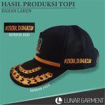 Hasil Produksi Topi Laken & Bordir Gold - GITA PRAJA MUKTI