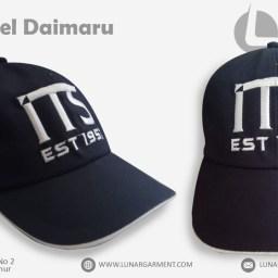 Hasil Produksi Dan Desain Topi ITS Rapel Daimaru