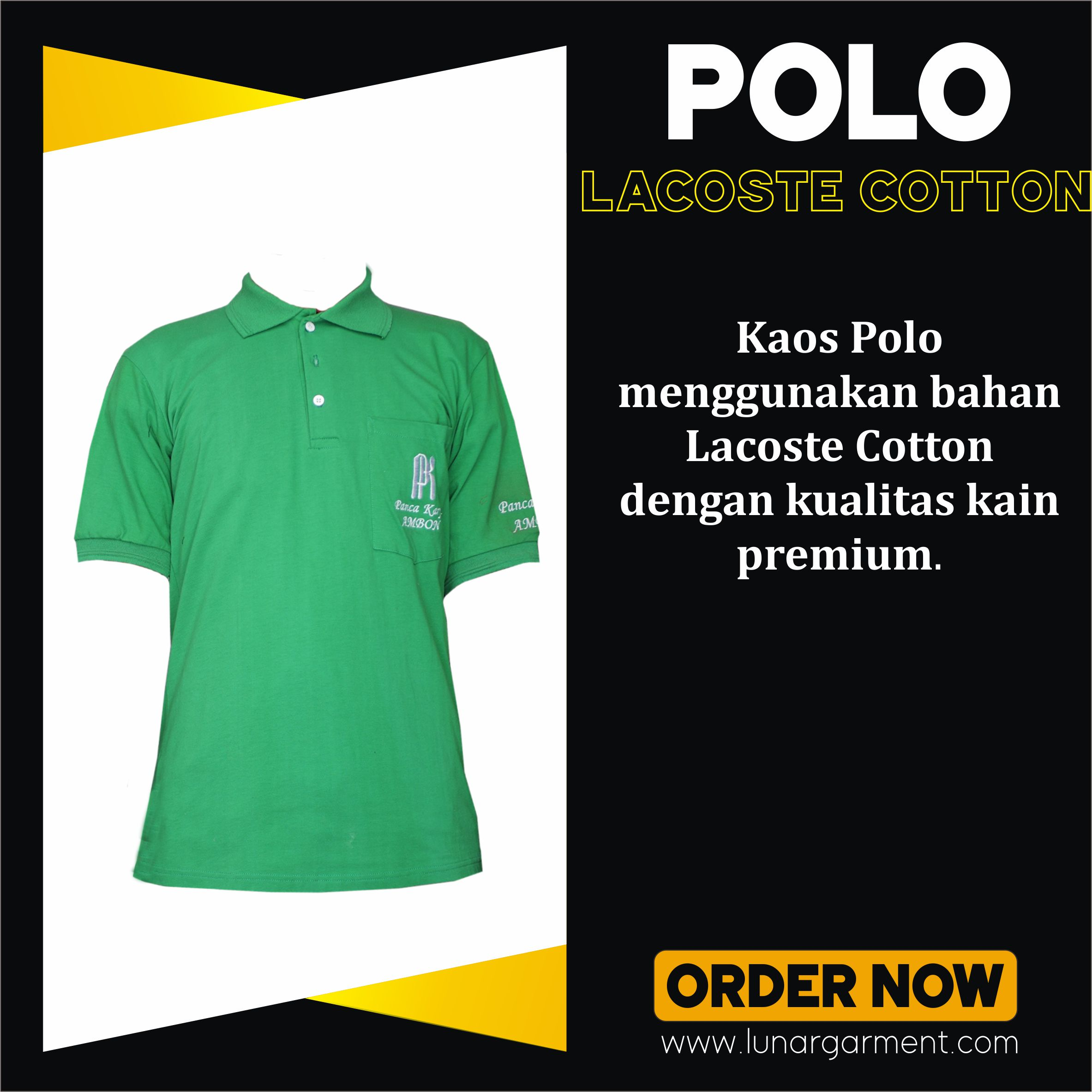 Hasil Konveksi Kaos Polo Panca Karya