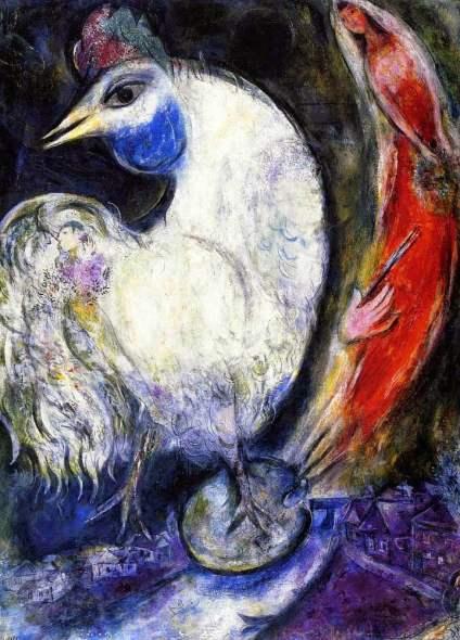 chagall il gallo