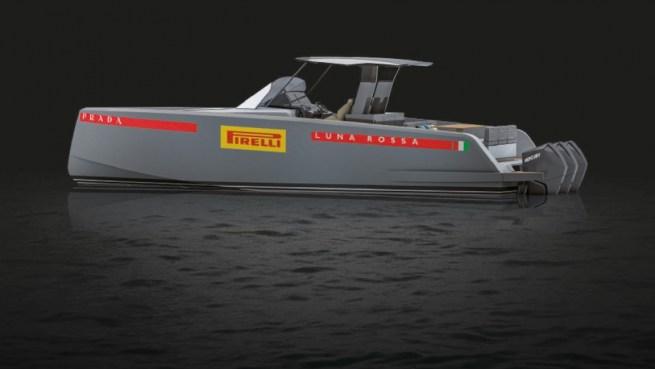 Pardo Yachts and Luna Rossa Prada Pirelli Team together to fly at 50 knots - Luna Rossa Prada Pirelli Team