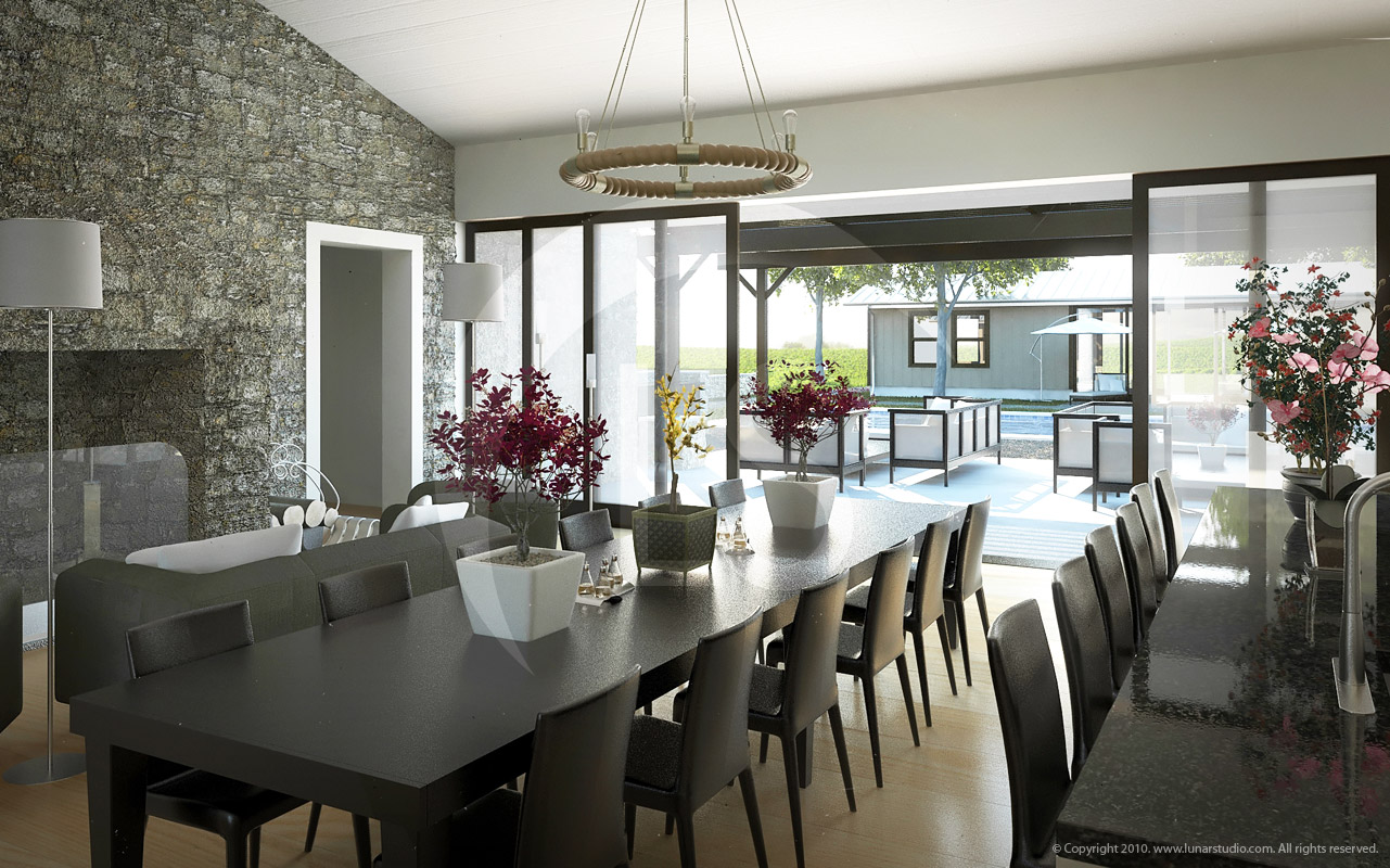 Architectural Renderings Of Interiors