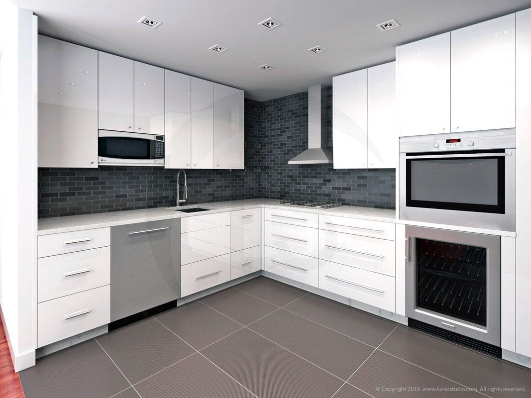 Kitchen And Dining Layout
