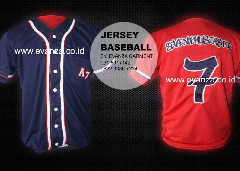 Contoh Desain Konveksi Jersey Baseball SEVENTHUSIASTIC