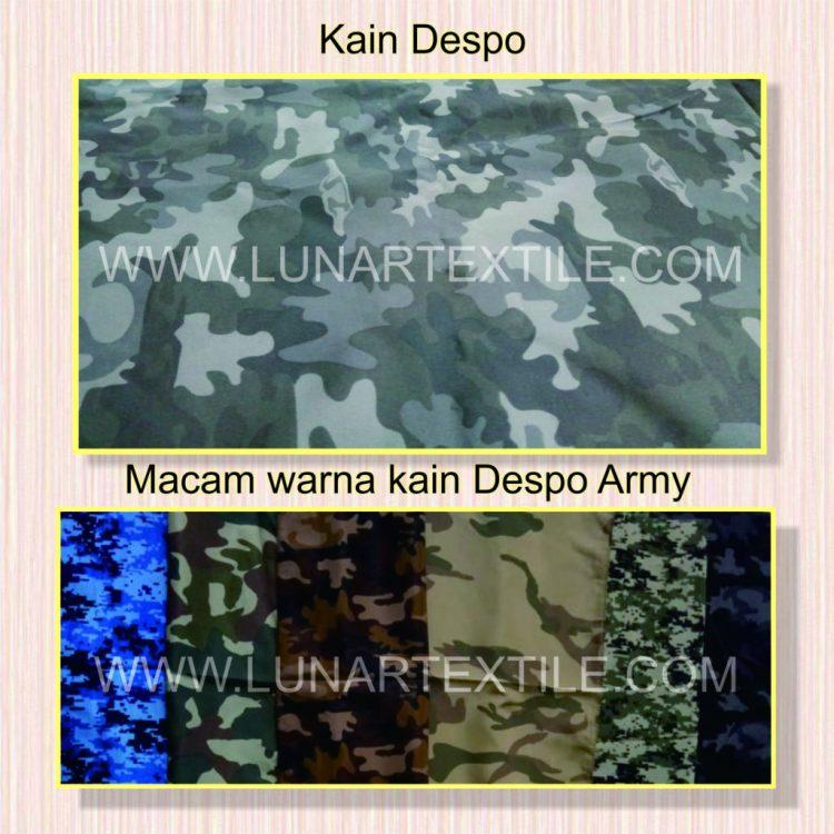 Kain Despo Motif Army