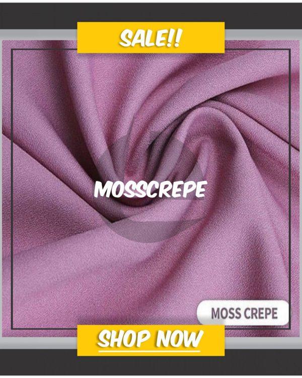Bahan Kain Konveksi Moss Crepe