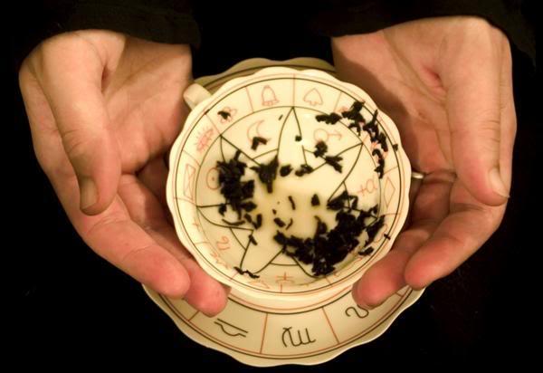 Image result for tea leaves reading