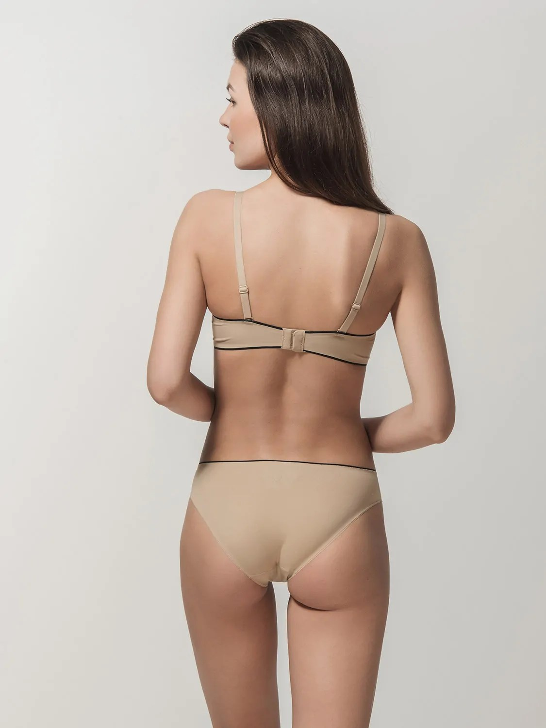 Miracle one 1808 wireless & 2808 brief beige back