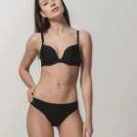 Miracle One 1809 push-up & 2808 brief black front