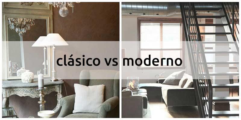 Estilo clásico vs moderno, ¿cuál es tu estilo?
