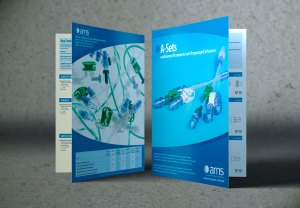 Medical products spec sheet design  Lunatrix Design