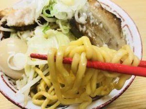 男前★飛雄馬 ゆうG醤油 麺リフト