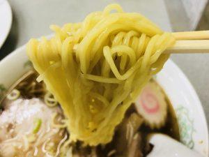 共進軒 チャーシューメン 麺リフト