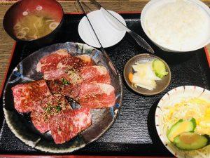 てんてん松崎店 新潟和牛定食