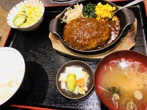 てんてん松崎店 ハンバーグ定食