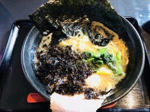 麺家 太威 岩のりラーメン
