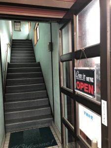 パステル 階段