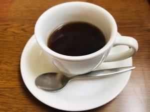 きらく苑 食後のサービスコーヒー