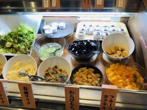 ドンキしゃぶしゃぶ デザートと生野菜