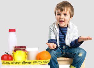 אלרגיה אצל ילדים