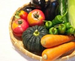 野菜、人参、カボチャ、トマト