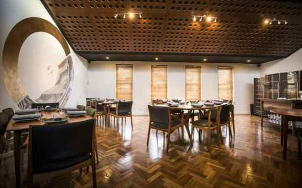 Earthy ambience: Orana main room