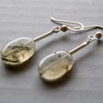 Prehnit & Sterling silver