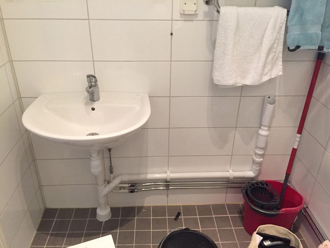 Badrum nytt badrum : Ett