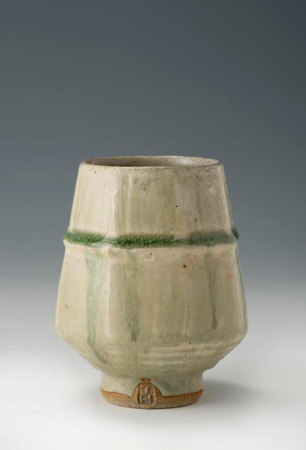 Tea Bowl 12 cm. Ash Glaze