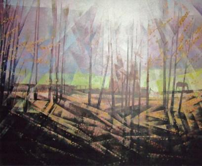 Autumn, Wray. Oil
