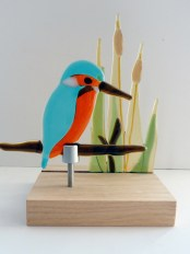 Kingfisher and Reeds