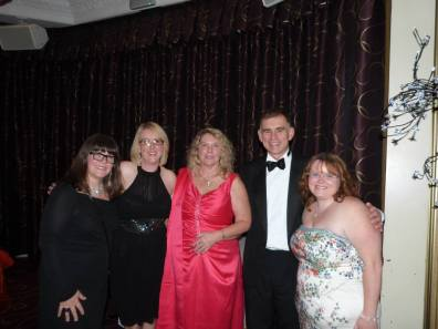 LCCC Trustees at the Charity Ball 2013 Strady Park