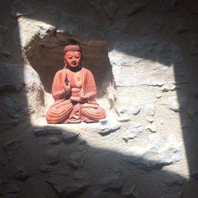 Photo buddha salle de Yoga