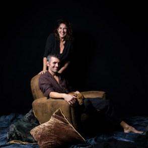 Jc et Alessandra per Piero Viti