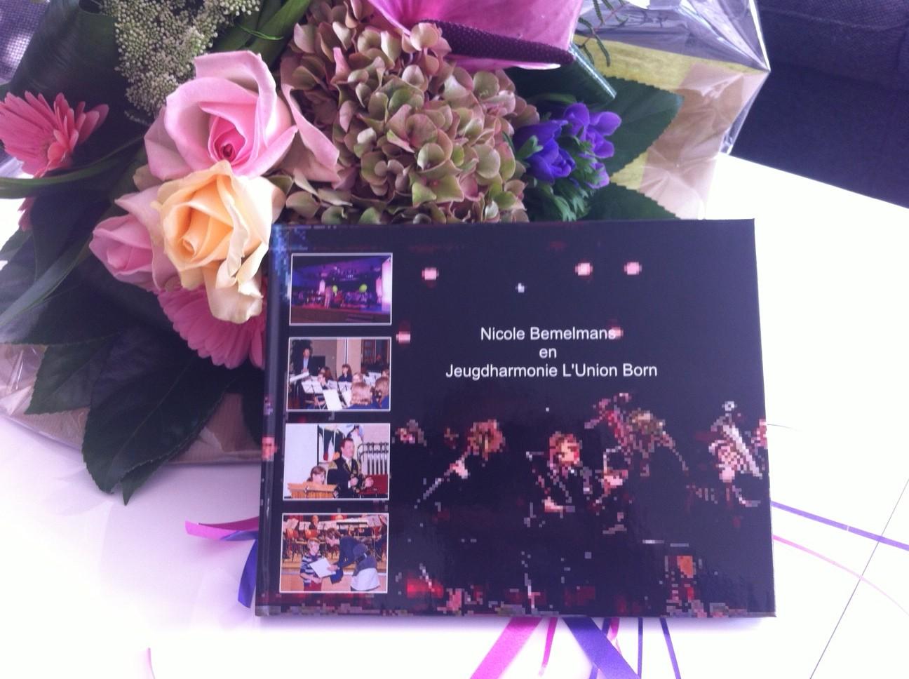 Afscheid Nicole bloemen