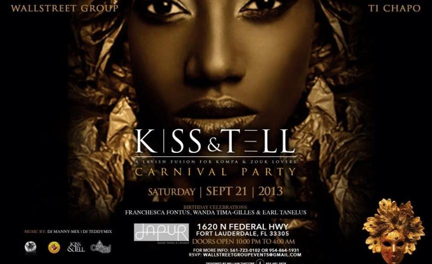 kiss and tell flyer
