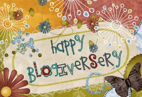 HappyBlogiversary