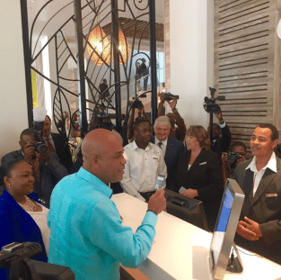 michel martelly marriott