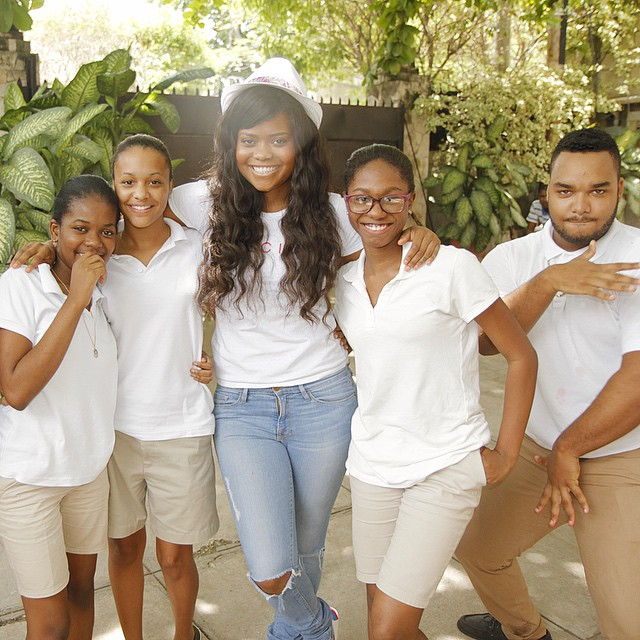 @karencivil Stopped by the Kallgren Learning Center to talk to the high-school kids about business development. Meet Haiti's Future: @Lord_x_ronn, @Ticed7, @Fabiolajea & @Lissamaria