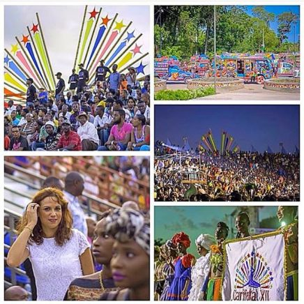 #CARIFESTAXII Opening Day