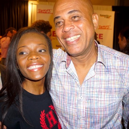 Me and Michel Martelly